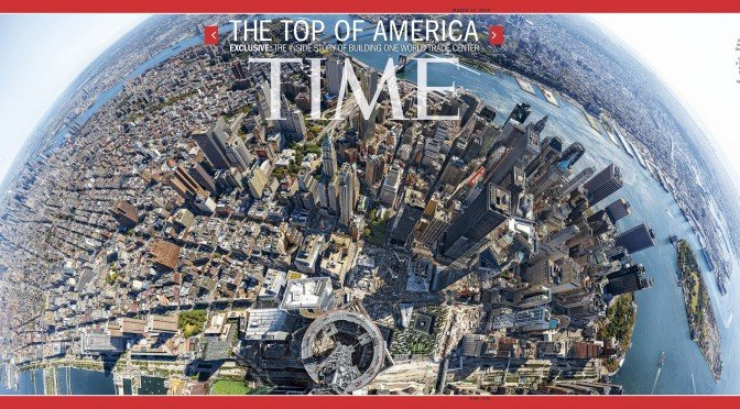 From the Spire — Creating the 1WTC Time Magazine Gigapixel Panorama
