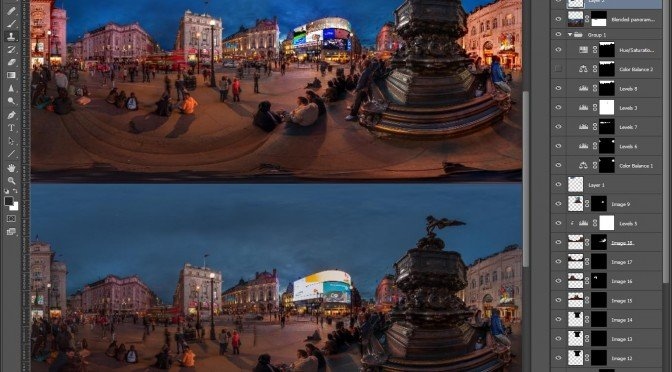 Advanced Image Editing for Panoramic Photography